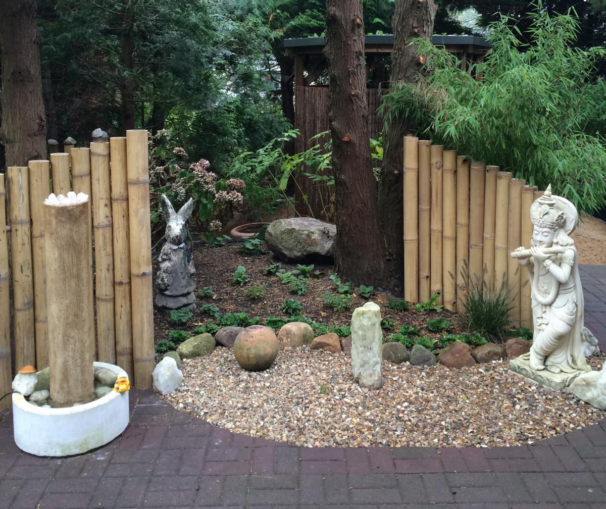 Feng Shui Garden Video Before – After German commentary