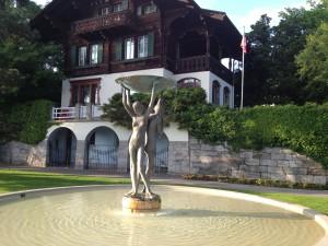 Brunnen, Wasser, Schweiz, Thun, Architektur