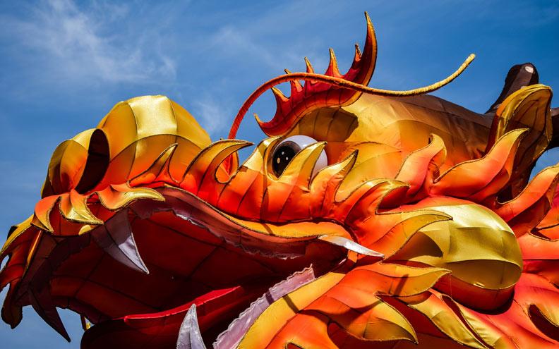 Chinese New Year celebration in Bangkok. Foto © Sophie Watkins