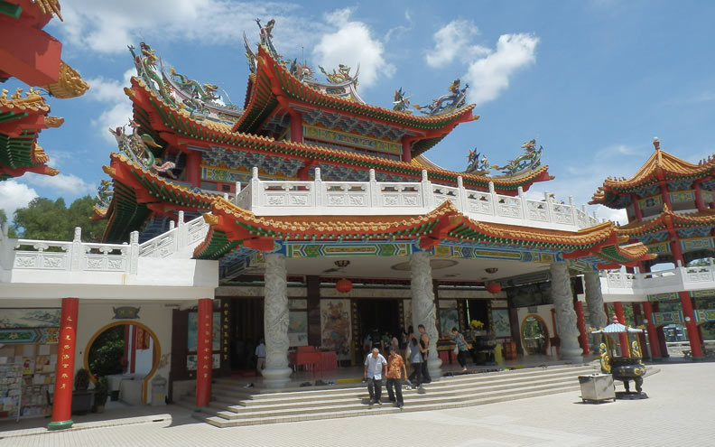 Traditional Chinese temples were always built with feng shui